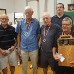 Elders top 4: Leo-Paul, Alvin, Jean et Jean-Guy.