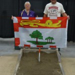 PEI's first participants in many years: Trena and David MacLean.