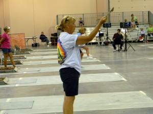 Cindy Hoffman, new Women's Champion.