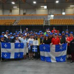 One of the largest groups of Quebec participants ever.