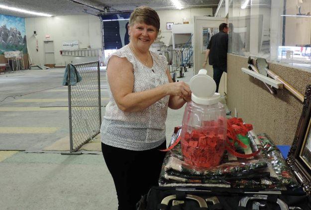 Calgary Horseshoe Club President Linda Skiehar.