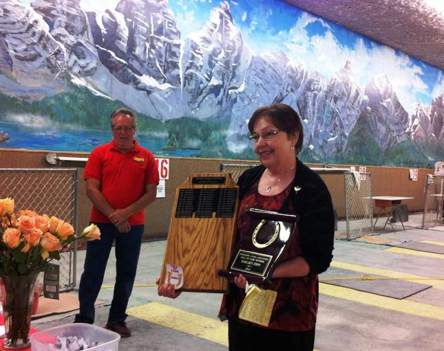 Marg Johns - 2014 Hall of Fame inductee